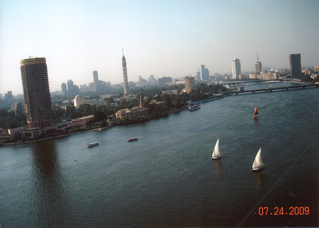 Cairo - view from the hotel room